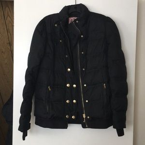 Juicy Couture black puffer!